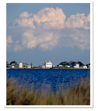 Horizon of Smith Island